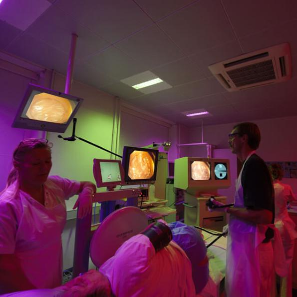 Der er installeret Ergonomisk Lys på en række endoskopistuer i både Danmark og det øvrige Skandinavien