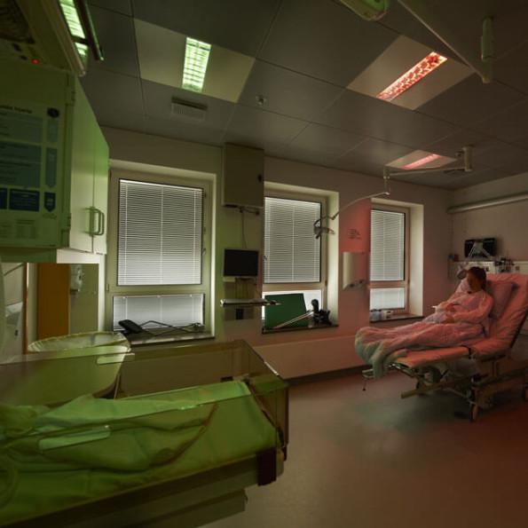 Ergonomisk Lys forbedrer ikke blot arbejdsmiljøet for personalet, men også fødselsoplevelsen for kvinden.