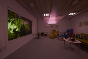 DemensCentrum Aarhus Stimulistue Violet lys