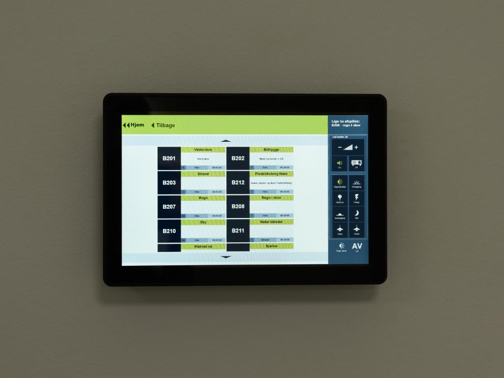 Panel touch skærm