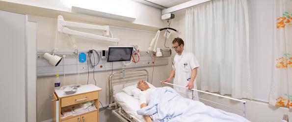 Døgnrytmelys har en signifikant effekt hos apopleksipatienter indlagt til rehabilitering i mere end 2 uger